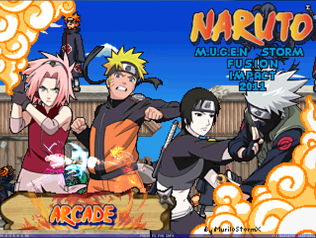 Naruto M.U.G.E.N Fusion Impact  [2011 / Action / Shooter / Fighting / P]
