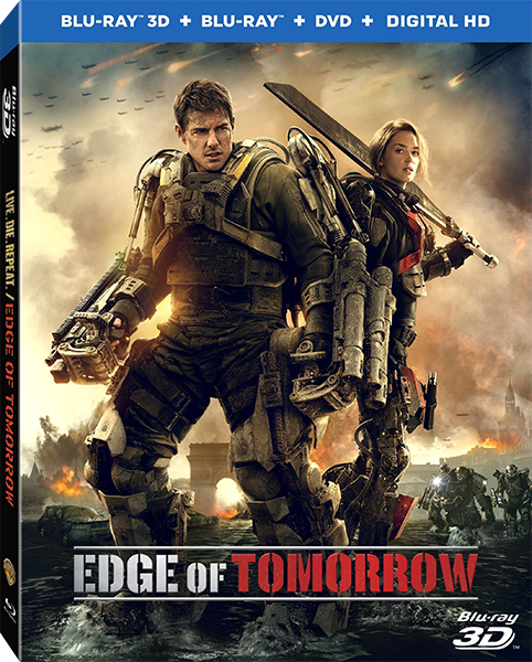 Грань будущего / Edge of Tomorrow (3D Video) [2014 / Фантастика, боевик / BDrip 1080p / Half OverUnder] DUB+AVO+SUB (Лицензия) by Ash61