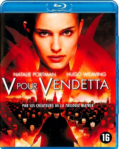 «V» значит Вендетта / V for Vendetta [2005 / Фантастика, боевик, триллер / BDRip] DUB (Лицензия)