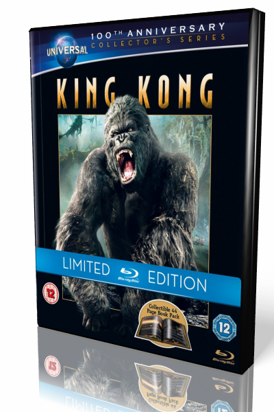 Кинг Конг / King Kong [2005 / приключения, фантастика / BDRip 1080][Unrated Extended Cut] DUD+DVO+MVO+AVO+SUB