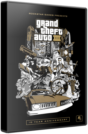 GTA 3 / Grand Theft Auto 3 [2002 / Action, Racing, TPS / ENG / PC | RePack] от KloneB@DGuY