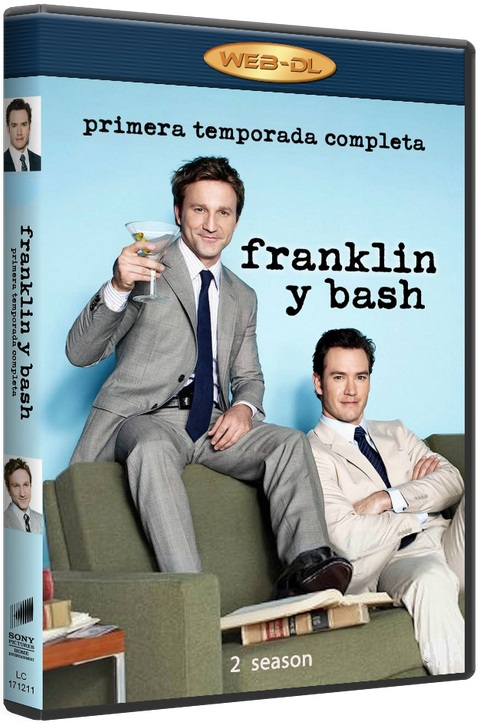 Компаньоны / Франклин и Бэш / Franklin & Bash (Сезон - 2, серии - 10 (из 10)) [2012 / комедия, криминал / WEB-DLRip] MVO (To4ka)