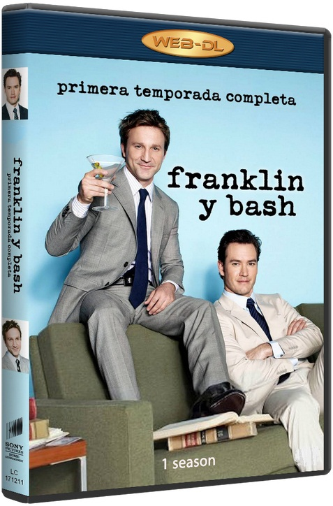 Компаньоны / Франклин и Бэш / Franklin & Bash (Сезон - 1, серии - 10 (из 10)) [2011 / комедия, криминал / WEB-DLRip] MVO (SET)