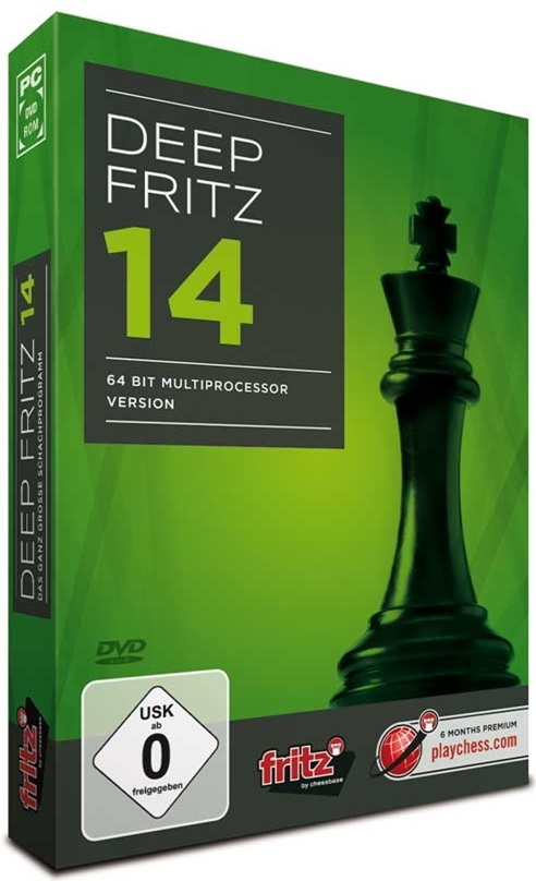 Шахматы - Deep Fritz 14 [2013 / Chess, 3D, 2D / ENG] РС | RePack от SpaceX