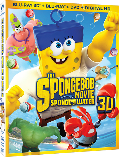 Губка Боб в 3D / The SpongeBob Movie: Sponge Out of Water (3D Video) [2015 / Мультфильм, комедия, приключения / BDRip 1080p / Half OverUnder] DUB+SUB (iTunes) by Ash61