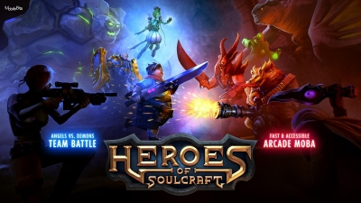 Heroes of SoulCraft - MOBA [2015] Android