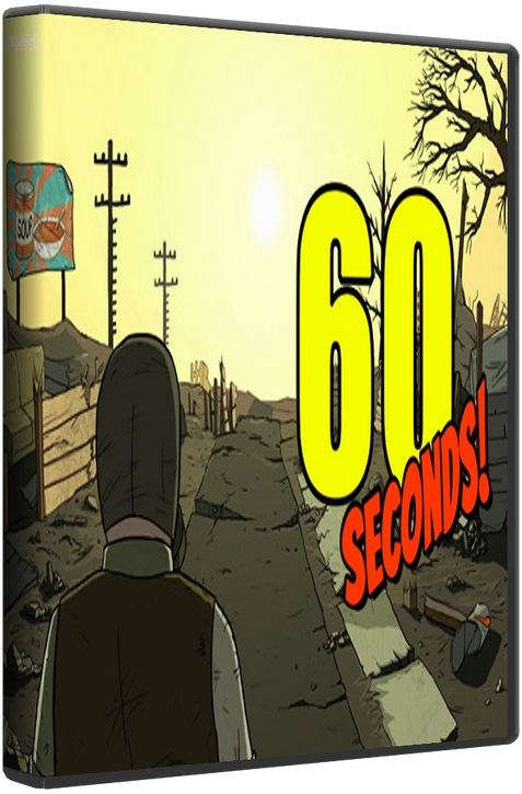 60 Seconds! [2015 / Adventure, 3D, 3rd Person / Лицензия] PC