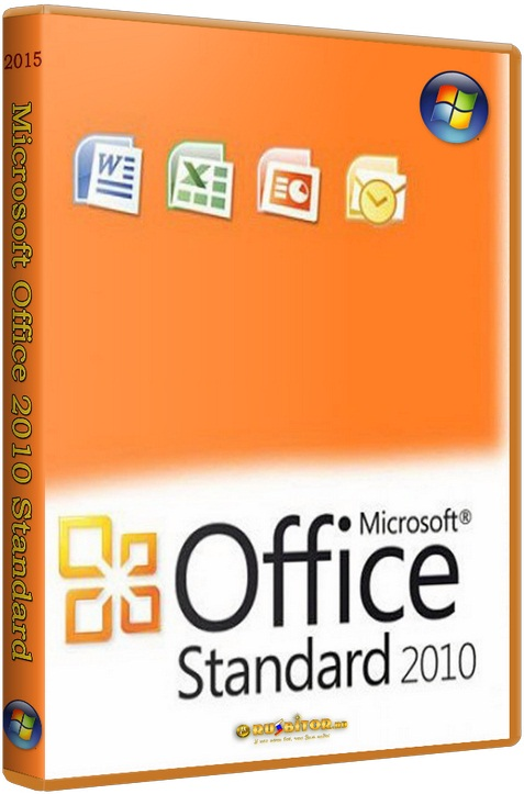 Microsoft Office 2010 Standard [14.0.7153.5000] [2015] RePack by KpoJIuK