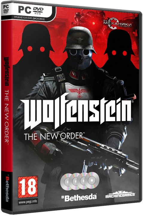 Wolfenstein: The New Order Wolfenstein: The New Order [Update 1][2014 / Action, Shooter, 3D, 1st Person / RePack]  R.G. Механики