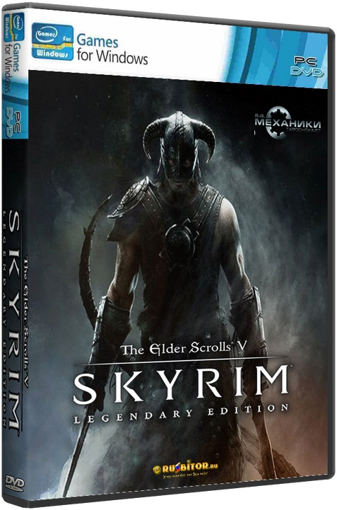 TES V Skyrim Legendary Edition (+ Mods) [2016 / RPG, 3D, 1st Person, 3rd Person / SimRePack] R.G.Механики