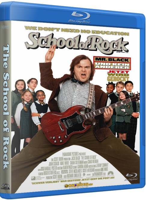 Школа рока / The School of Rock [2003 / комедия, музыка / HDRip]