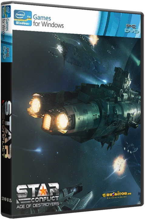 Star Conflict: Age of destroyers v.1.3.7.1 (30.05.2016) [2013 ,MMORPG / Action] (Лицензия)