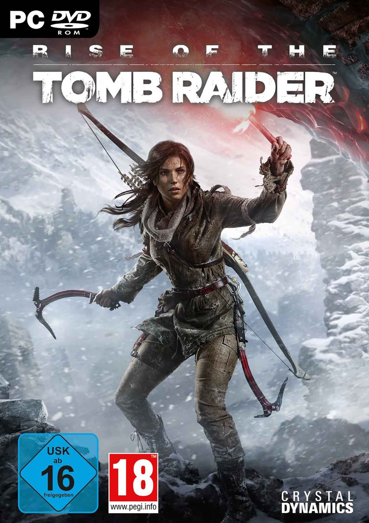 Rise of the Tomb Raider Crack [2016 / Action / 3D / 3rd Person / Crack]