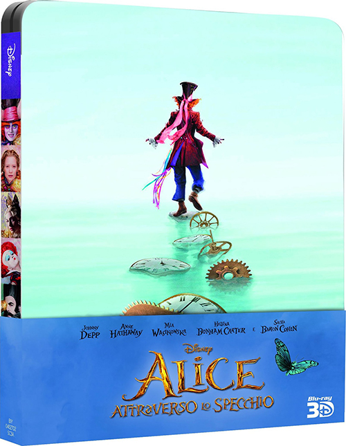 ������� ����� � ���������� / Alice Through the Looking Glass [2016 / �������, �����������, �������� / BDRip 1080p]