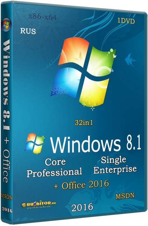 ������� Windows 8.1 [24.10.16] [2016] [1DVD] by SmokieBlahBlah