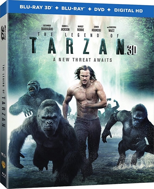 ������� ������. ������� / The Legend of Tarzan (3D Video) [2016 / �����������, ������, �����, ��������� / BDRip 1080p  / Half OverUnder] DUB+SUB (��������) by Ash61