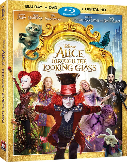 ������� ����� � ���������� / Alice Through the Looking Glass (3D Video) [2016 / �������, ����������� / BDRip 1080p / Half OverUnder] DUB+SUB (��������) by Ash61