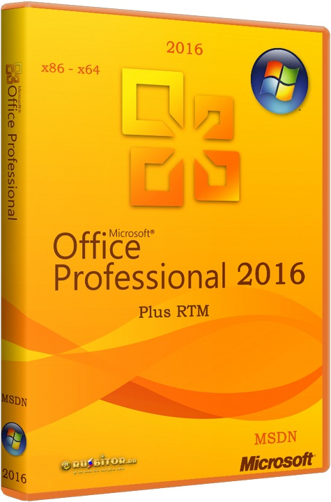 Скачать Microsoft Office 2016 Professional Plus 16.0.6366.2025