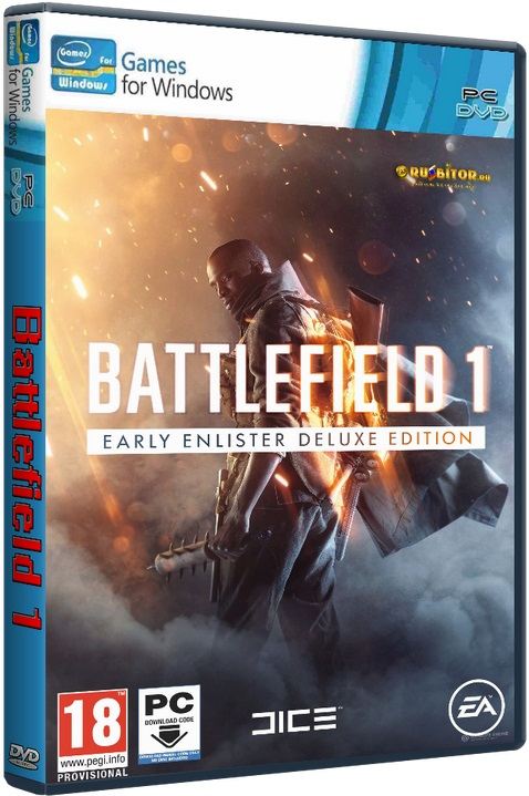 Battlefield 1. Digital Deluxe Edition (EA Games) (RUS|ENG|MULTI) [RiP] от SEYTER