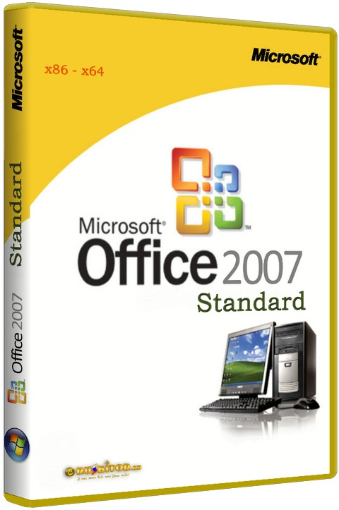 Microsoft Office 2007 Professional SP3 Russian [+ все обновления на 25.09.2012] [x86+x64] [2010]