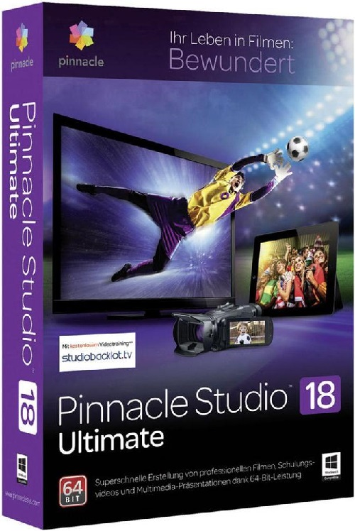 Pinnacle Studio Ultimate [v18.0.2.444] [x64] (2014) PC