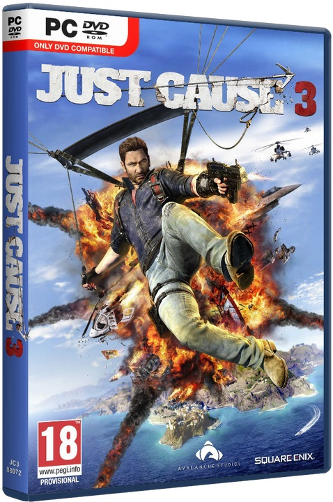 Just Cause 3 XL Edition [2015 / Action (Shooter) / 3D / 3rd Person / Open World / Лицензия [Steam-Rip]]
