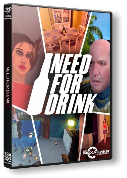 Need For Drink [Early Access] [2017 / Action, Adventure, Simulator / RePack] PC | от R.G. Механики