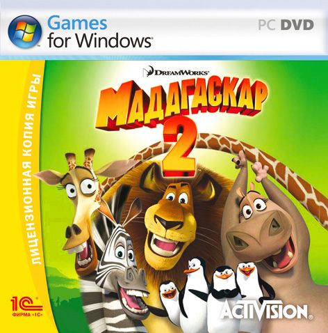 Мадагаскар 2 / Madagascar: Escape 2 Africa [2008 / Arcade/Platformer/3D/3th Person / RePack]