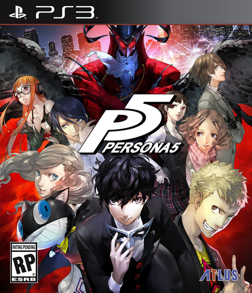 Persona 5 [2017 / RPG (Japanese-style) / 3D / 3rd Person / PS3]