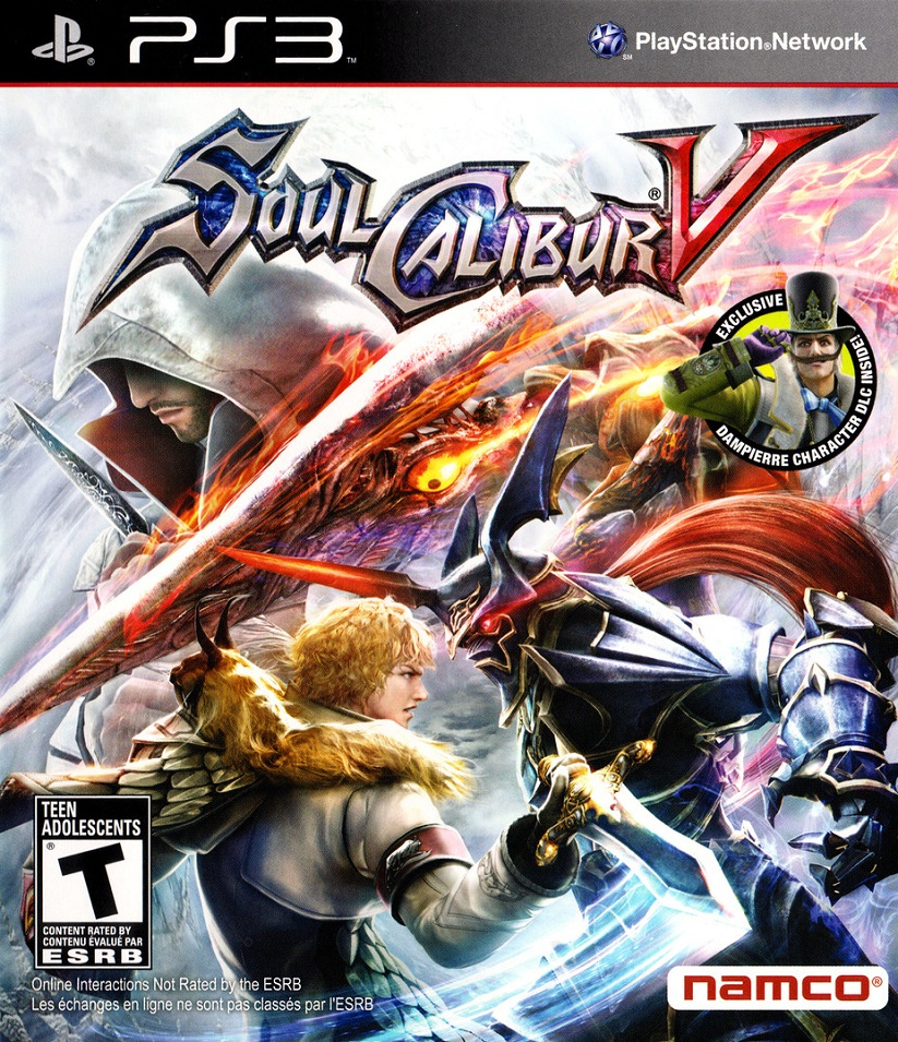 SoulCalibur V [2012 / Fighting / FULL] [PS3]