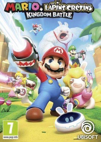 Mario + Rabbids Kingdom Battle [2017 / Arcade, TBS, Tactic / HD 720p] | Трейлер