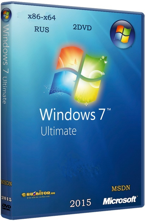 Microsoft Windows 7 Ultimate [6.1.7601.23403 Service Pack 1 Сборка 7601 / 08.2017] [2017] [2DVD] by OVGorskiy®