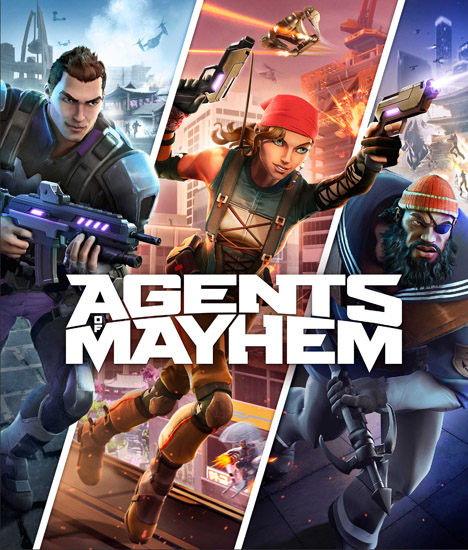 Agents of Mayhem [2017 / Action, Shooter, 3D, 3rd Person / RePack]