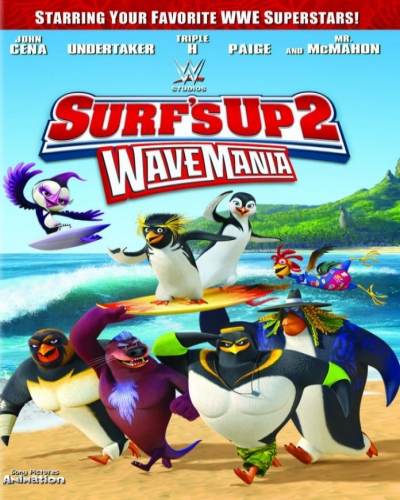 Скачать Лови волну 2 / Surf's Up 2: WaveMania [2017 / мультфильм, комедия, семейный, спорт / WEB-DL 1080p]