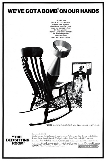 Жилая комната / The Bed Sitting Room [1969 / фантастика, комедия / HDRip]