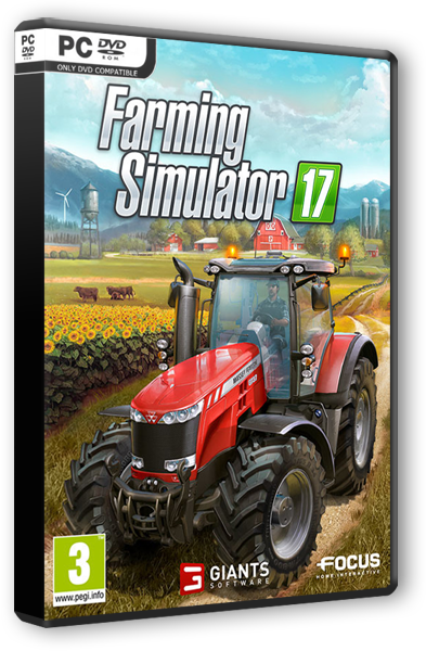 Скачать Farming Simulator 17 [v 1.5.3.1 +5 DLC's] (2016) PC | RePack от xatab