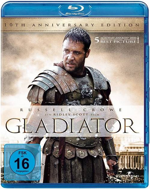 Гладиатор / Gladiator [2000 / Боевик, драма, приключения / BDRemux 1080p][2-in-1: Extended , Theatrical Cut]