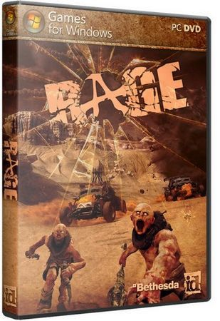 Rage [v 1.0.34.2015 + 3 DLC] [2011 / Action (Shooter), 3D, 1st Person / RiP]