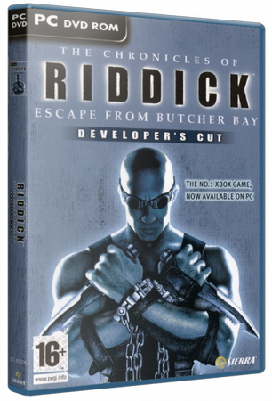 The Chronicles of Riddick - Escape from Butcher Bay [2004 / Action (Shooter), 3D, 1st Person, Stealth / RePack от R.G. Механики]