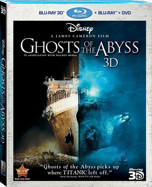 Призраки бездны: Титаник  / Ghosts of the Abyss (3D Video) [ 2003 / Документальный / BDrip 1080p / Half OverUnder]
