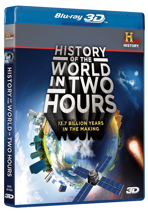 История мира за два часа  / History of the World in Two Hours (3D Video)  [2011 / Документальный, познавательный / BDrip 1080p / Half OverUnder]