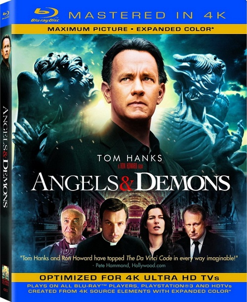 Ангелы и Демоны / Angels  Demons [2009 / Триллер, детектив / BDRip 720p]