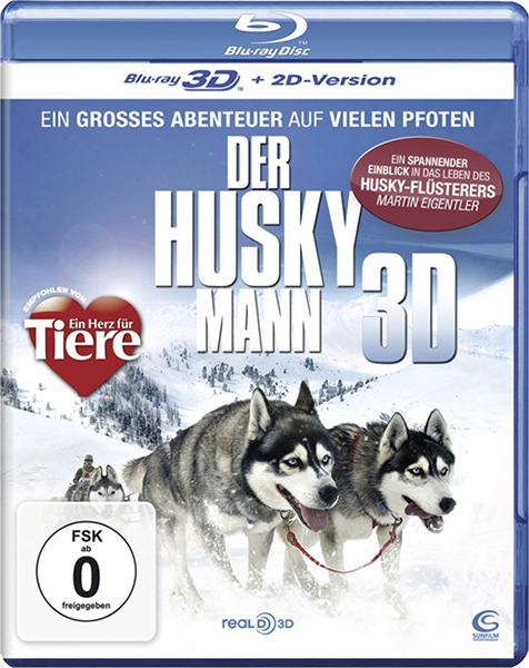 Человек хаски  / Der Husky Mann (3D Video)  [2011 / Документальный / BDrip 1080p / Half OverUnder]