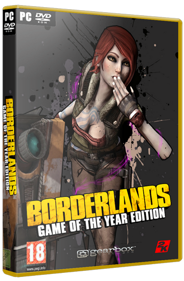 Borderlands: Game of the Year Edition [2010 / Action (Shooter), RPG, 3D, 1st Person / RePack от R.G. Механики]