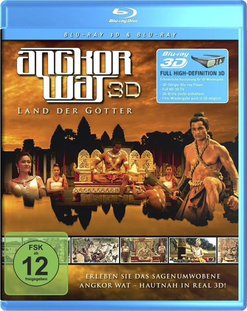 Ангкор: Земля богов / Angkor: Land of the Gods (3D Video) [2011 / Документальный, история / BDRip 1080p / Half OverUnder]