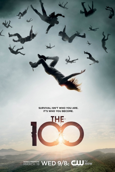 Сотня / 100 / The 100 (Сезон 1, Серии 01-03 (из 13)) [2014 / Фантастика / WEB-DLRip] (NewStudio)